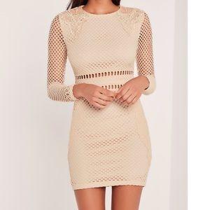 Missguided x Carli Bybel Premium Lace Dress (LE)